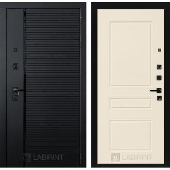 Двери Лабиринт входные двери Лабиринт Пиано  03 - Крем софт(dveri labirint piano)
