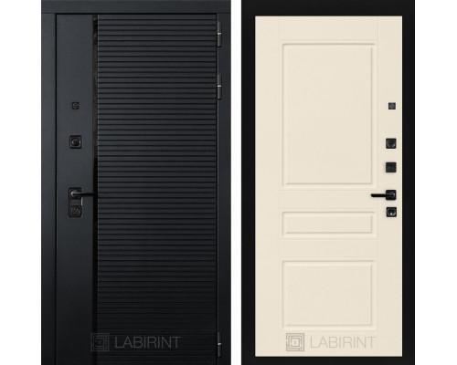 Входная дверь PIANO 03 - Крем софт