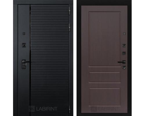 Входная дверь PIANO 03 - Орех премиум