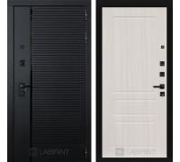 Двери Лабиринт входные двери Лабиринт Пиано  03 - Сандал белый(dveri labirint piano)