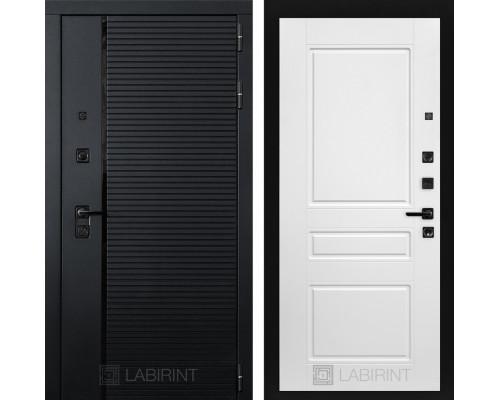 Входная дверь PIANO 03 - Белый софт