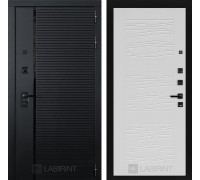 Двери Лабиринт входные двери Лабиринт Пиано  06 - Белое дерево(dveri labirint piano)