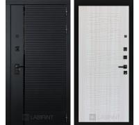 Двери Лабиринт входные двери Лабиринт Пиано 06 - Сандал белый(dveri labirint piano)