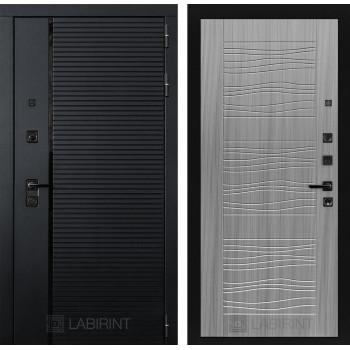 Двери Лабиринт входные двери Лабиринт Пиано 06 - Сандал серый(dveri labirint piano)