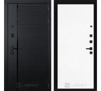 Двери Лабиринт входные двери Лабиринт Пиано 07 - Белое дерево(dveri labirint piano)