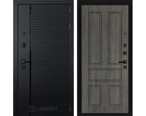 Входная дверь PIANO 10 - Дуб филадельфия графит