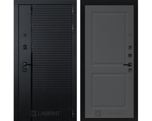 Входная дверь PIANO 11 - Графит софт