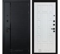 Входная дверь PIANO 12 - Белое дерево