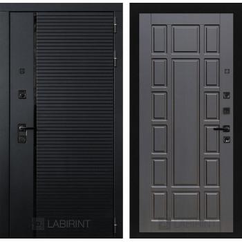 Двери Лабиринт входные двери Лабиринт Пиано  12 - Венге(dveri labirint piano)