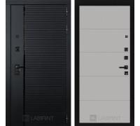 Двери Лабиринт входные двери Лабиринт Пиано 13 - Грей софт(dveri labirint piano)