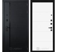 Двери Лабиринт входные двери Лабиринт Пиано 13 - Белый софт(dveri labirint piano)