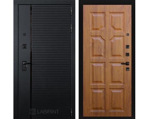 Входная дверь PIANO 17 - Золотой дуб
