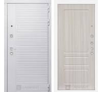Входная дверь PIANO WHITE 03 - Сандал белый