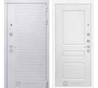 Входная дверь PIANO WHITE 03 - Белый софт