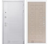 Входная дверь PIANO WHITE 04 - Беленый дуб