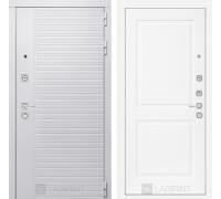 Входная дверь PIANO WHITE 11 - Белый софт