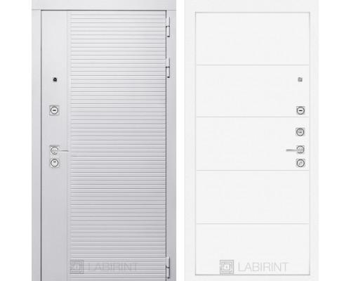 Входная дверь PIANO WHITE 13 - Белый софт