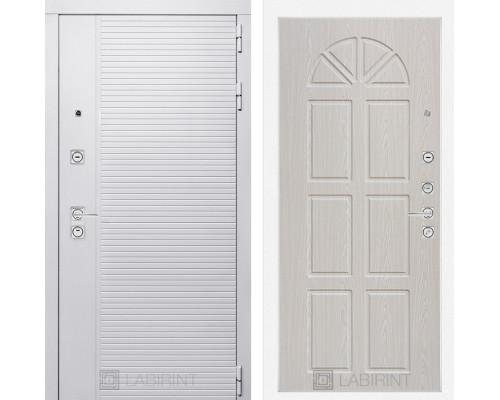 Входная дверь PIANO WHITE 15 - Алмон 25