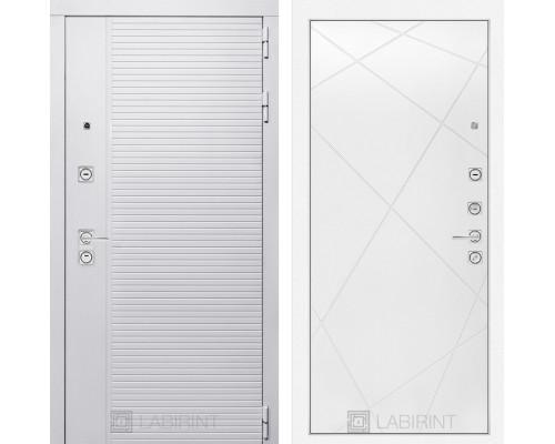 Входная дверь PIANO WHITE 24 - Белый софт