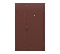 Тамбурная металлическая дверь Дуо Гранд Антик Медь/Антик Медь (двери в тамбур)