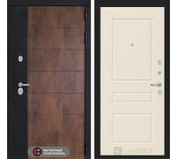 Входная дверь ТЕХНО 03 - Крем софт