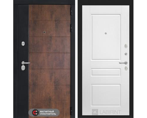 Входная дверь ТЕХНО 03 - Белый софт