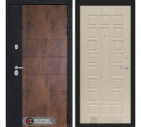 Входная дверь ТЕХНО 04 - Беленый дуб