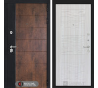 Входная дверь ТЕХНО 06 - Сандал белый