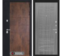 Входная дверь ТЕХНО 06 - Сандал серый