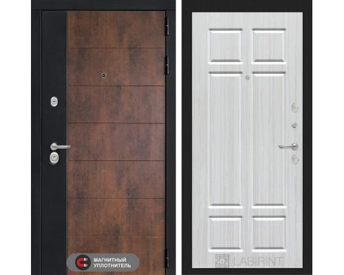 Входная дверь ТЕХНО 08 - Кристалл вуд