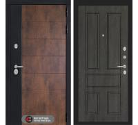 Входная дверь ТЕХНО 10 - Дуб филадельфия графит