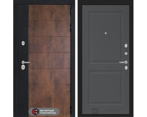 Входная дверь ТЕХНО 11 - Графит софт