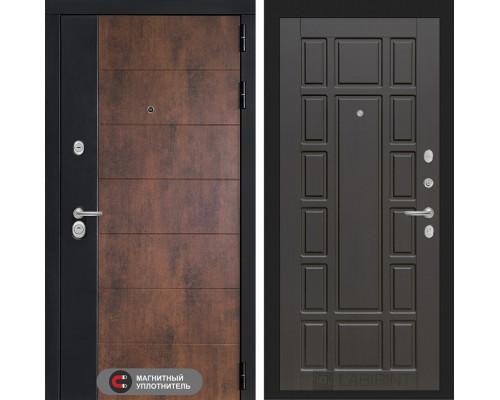 Входная дверь ТЕХНО 12 - Венге