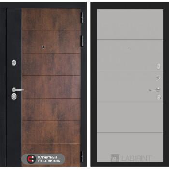 Входная дверь ТЕХНО 13 - Грей софт