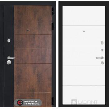 Входная дверь ТЕХНО 13 - Белый софт
