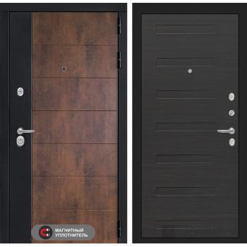 Входная дверь ТЕХНО 14 - Эковенге горизонтальный