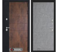 Входная дверь ТЕХНО 21 - Бетон светлый