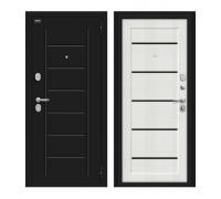 Входная дверь Браво/Dveri Bravo/Борн 117.М22 Лунный камень/Bianco Veralinga, двери браво