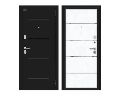 Входная дверь Браво/Dveri Bravo/Лайн 104.Б0 Лунный камень/Snow Art, двери браво
