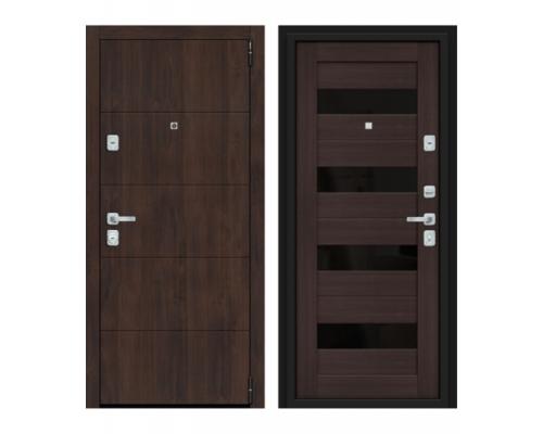 Входная дверь Браво Dveri Bravo Porta M 4.П23 Almon 28/Wenge Veral двери браво