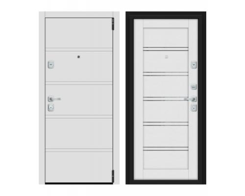 Входная дверь Браво Dveri Bravo Porta M 8.Л28 White Stark/Virgin двери браво