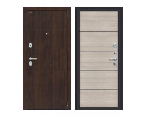 Входная дверь Браво Porta S 4.П50 Almon 28/Cappuccino Veralinga