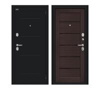 Входная дверь Браво/Dveri Bravo/Техно Kale Букле черное/Wenge Veralinga, двери браво