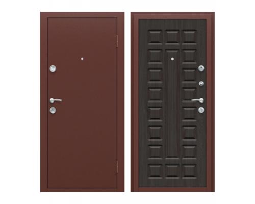 Входная дверь Йошкар (двери Йошкар) Антик Медь/П-09 (Венге)