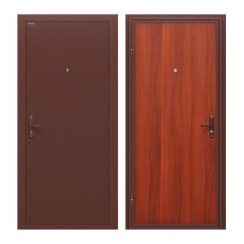 Входная металлическая дверь Инсайд Экон М-11 ИтОр внутреннего открывания