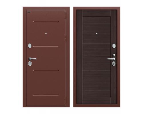 ВходнаядверьГрофф Т2-221 New Ант Медь/Wenge Veral Двери Грофф входные
