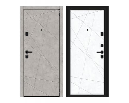 Входные двери Браво (Bravo) Дверь Браво (Bravo) Porta M 15.15 Grey Art/Snow Art