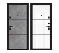 Входные двери Браво (Bravo) Дверь Браво (Bravo) Porta M П50.П50 (AB-4) Dark Concrete/Angel