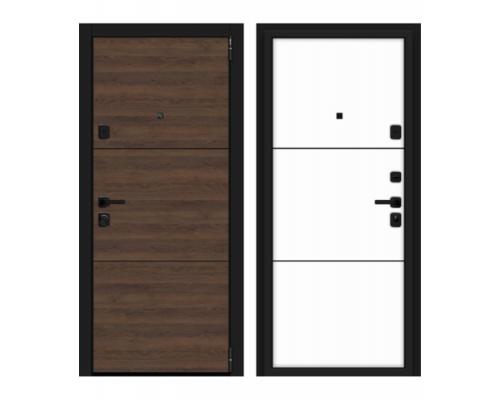 Входные двери Браво (Bravo) Дверь Браво (Bravo) Porta M П50.П50 (AB-4) Tobacco Greatwood/Silky Way