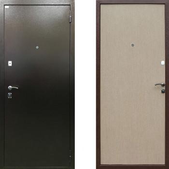 Металлическая входная дверь Ратибор Форт (Цвет Беленый Дуб)